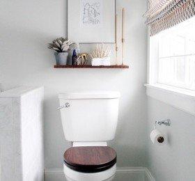 Toilet seat up